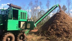 Picador cavaco - Biomassa