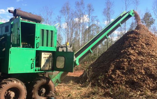 Cavaco Biomassa – picador de cavaco.